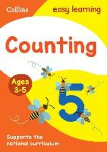 Counting Ages 3-5: New Edition - Collins Easy Learning - cover