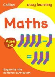 Maths Ages 4-5: New Edition - Collins Easy Learning - cover