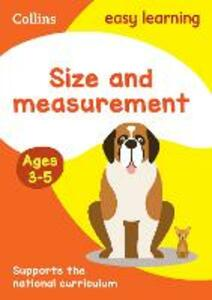 Size and Measurement Ages 3-5: New Edition - Collins Easy Learning - cover