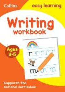 Writing Workbook Ages 3-5: New Edition - Collins Easy Learning - cover
