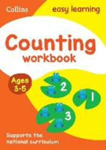 Counting Workbook Ages 3-5: New Edition - Collins Easy Learning - cover