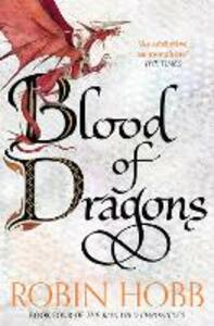 Blood of Dragons - Robin Hobb - cover