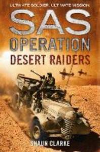 Desert Raiders - Shaun Clarke - cover
