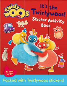 It's the Twirlywoos: Sticker Activity Book - cover