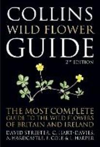 Collins Wild Flower Guide - David Streeter - cover