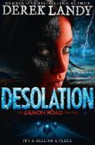 Desolation - Derek Landy - cover