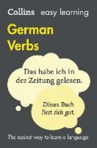 Easy Learning German Verbs - Collins Dictionaries - cover