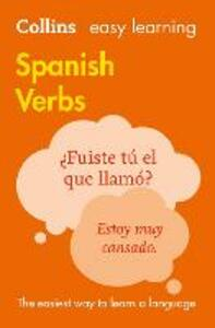 Easy Learning Spanish Verbs - Collins Dictionaries - cover