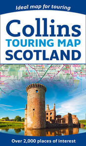 Scotland Touring Map - Collins Maps - cover