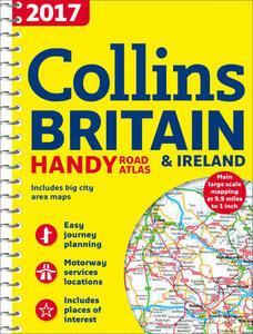 2017 Collins Handy Road Atlas Britain [New Edition] - Collins Maps - cover