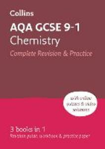 AQA GCSE 9-1 Chemistry All-in-One Revision and Practice - Collins GCSE - cover