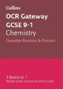 OCR Gateway GCSE 9-1 Chemistry All-in-One Revision and Practice - Collins GCSE - cover