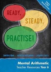 Year 6 Mental Arithmetic Teacher Resources: Maths KS2 - Keen Kite Books,Paul Broadbent - cover
