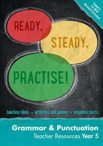 Year 5 Grammar and Punctuation Teacher Resources: English KS2 - Keen Kite Books - cover