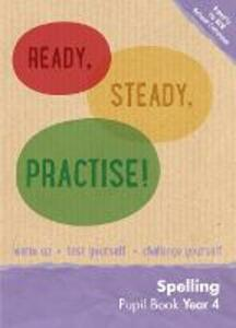 Year 4 Spelling Pupil Book: English KS2 - Keen Kite Books - cover