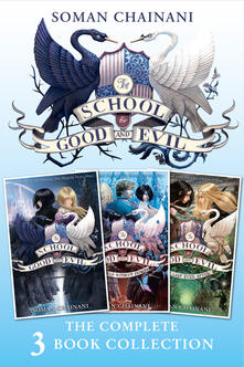 School for Good and Evil Complete Collection (The School for Good and Evil, A World Without Princes, The Last Ever After)