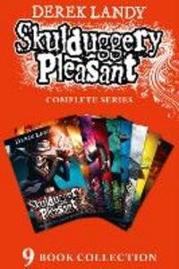 Ebook in inglese Skulduggery Pleasant--The Complete Series, Books 1-9 Landy, Derek