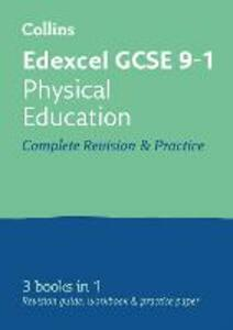 Edexcel GCSE 9-1 Physical Education All-in-One Revision and Practice - Collins GCSE - cover