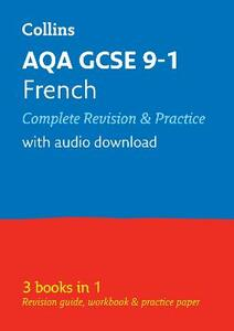AQA GCSE 9-1 French All-in-One Revision and Practice - Collins GCSE - cover