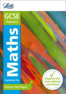 GCSE 9-1 Maths Foundation Practice Test Papers - Letts GCSE,Mike Fawcett - cover