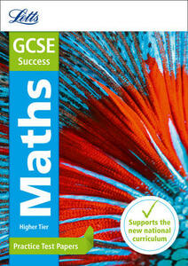 GCSE 9-1 Maths Higher Practice Test Papers - Mike Fawcett,Letts GCSE - cover