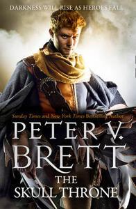 The Skull Throne - Peter V. Brett - cover