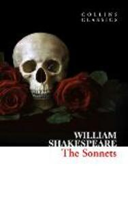 The Sonnets - William Shakespeare - cover