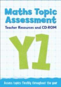 Year 1 Maths Topic Assessment: Teacher Resources and CD-ROM: Maths KS1 - Keen Kite Books,Steph King - cover