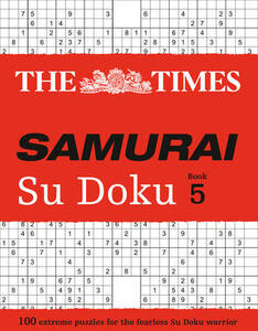 The Times Samurai Su Doku 5: 100 Challenging Puzzles from the Times - The Times Mind Games - cover