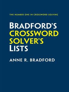 Ebook in inglese Collins Bradford's Crossword Solver's Lists Bradford, Anne R.