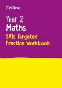 Year 2 Maths SATs Targeted Practice Workbook: 2019 Tests - Collins KS1 - cover