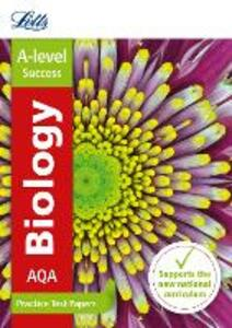 AQA A-level Biology Practice Test Papers - Letts A-Level - cover