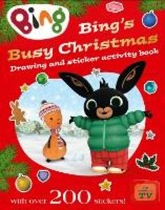 Bing's Busy Christmas - cover