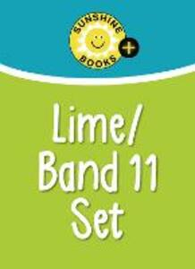 Lime Set: Levels 25-26/Lime/Band 11 - cover