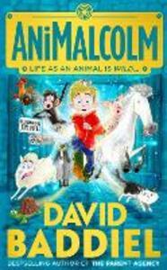 AniMalcolm - David Baddiel - cover