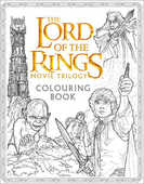 Libro in inglese The The Lord of the Rings Movie Trilogy Colouring Book Warner Brothers J. R. R. Tolkien