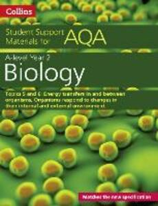 AQA A level Biology Year 2 Topics 5 and 6 - Mike Boyle - cover