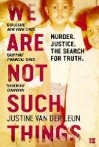 Ebook in inglese We Are Not Such Things Leun, Justine van der