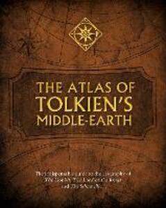 The Atlas of Tolkien's Middle-earth - Karen Wynn Fonstad - cover