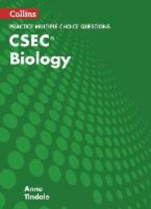 CSEC Biology Multiple Choice Practice - Anne Tindale - cover