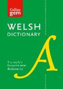 Collins Welsh Dictionary Gem Edition: Trusted Support for Learning, in a Mini-Format - Collins Dictionaries - cover
