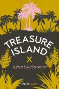 Treasure Island - Robert Louis Stevenson - cover