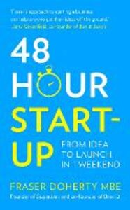 Ebook in inglese 48-Hour Start-up Doherty MBE, Fraser