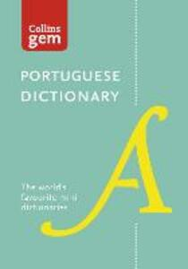 Collins Portuguese Gem Dictionary: The World's Favourite Mini Dictionary - Collins Dictionaries - cover