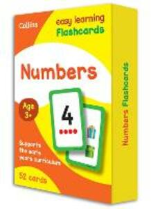 Numbers Flashcards - Collins Easy Learning - cover