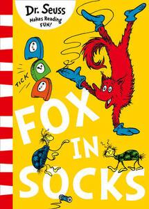 Fox in Socks - Dr. Seuss - cover