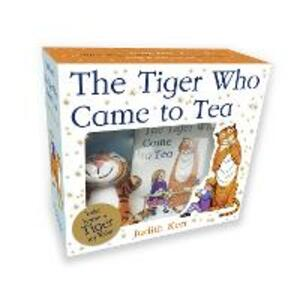 The Tiger Who Came to Tea: Book and Toy Gift Set - Judith Kerr - cover