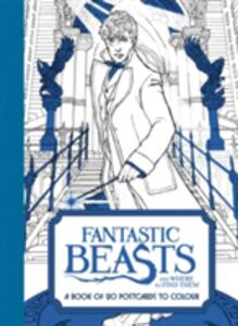 Fantastic Beasts and Where to Find Them: A Book of 20 Postcards to Colour - Warner Brothers Studio - cover