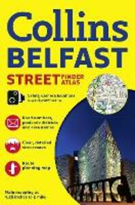 Collins Belfast Streetfinder Colour Atlas - Collins Maps - cover