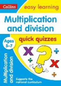 Multiplication & Division Quick Quizzes Ages 5-7 - cover